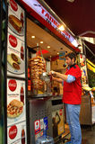 Doner Kebab in Istanbul Stock Photography