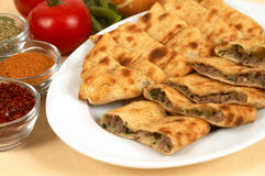 Doner with meat Stock Photography