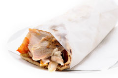 Doner in the towel Stock Photo
