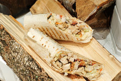Doner, turc Shawarma Images stock
