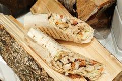 Doner, Turkse Shawarma Stock Afbeeldingen