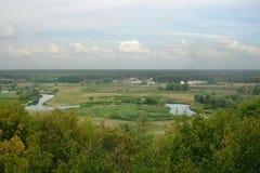 Donets Seversky ποταμός Στοκ φωτογραφία με δικαίωμα ελεύθερης χρήσης