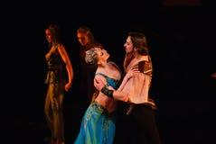 DONETSK - 17. MÄRZ: Ballett Lecorsaire Lizenzfreie Stockbilder