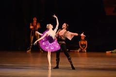 DONETSK - 17. MÄRZ: Ballett Lecorsaire Stockfotografie