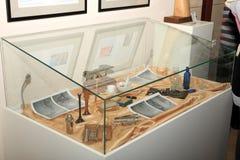 DONETSK - 16 DE FEVEREIRO: Abertura da exposição Foto de Stock Royalty Free