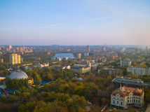 Donetsk de uma altura Fotos de Stock Royalty Free