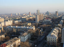 Donetsk est une ville industrielle Photographie stock libre de droits