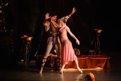 DONETSK - MAART 17: Het ballet van le Corsaire Stock Foto's