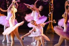 DONETSK - MAART 17: Het ballet van le Corsaire Royalty-vrije Stock Afbeelding