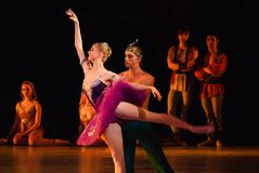 DONETSK - MARCH 17: Le Corsaire ballet Stock Photo