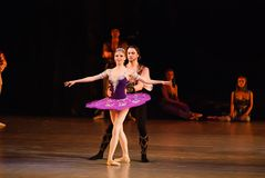 DONETSK - MARCH 17: Le Corsaire ballet Stock Photos