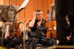 Donetsk Opera Orchestra sweat Stock Images