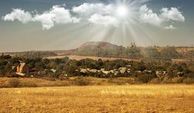 Donetsk-Region, Bergmann ` s Land Stockbild