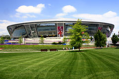 Donetsk, Ukraine. June 9: Donbass-Arena - Stadium June 9, 2012 in . Euro 2012 matches will be played here Stock Photo