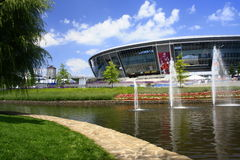 Donetsk, Ukraine,Donbass-Arena - Stadium Royalty Free Stock Photography