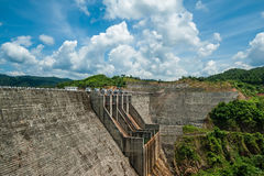 Dong纳伊水力发电厂4 库存照片