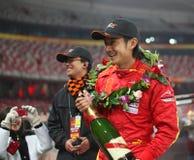 él compartimiento en la raza de campeones Pekín 2009 Fotos de archivo libres de regalías