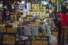 ba market in, Hue, Vietnam royalty free stock photography