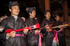 Dong Chorus original, Guizhou, porcelana foto de stock