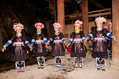 Dong Chorus original, Guizhou, porcelana fotografia de stock