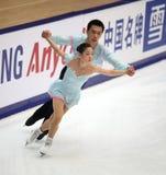 Dong di Huibo e Yiming Wu (CHN) Fotografia Stock