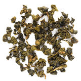 Dong Ding Oolong. Taiwan Tea isolated Stock Images