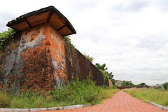 Dong Hoi citadell, Quang Binh, Vietnam Arkivfoton
