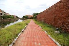 Dong Hoi citadell, Quang Binh, Vietnam 2 Arkivbild
