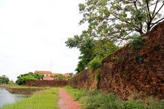 Dong Hoi citadell, Quang Binh, Vietnam 6 Arkivbilder