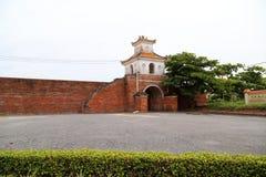 Dong Hoi citadell, Quang Binh, Vietnam 7 Arkivfoto