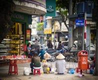 Dong Khoi ulica, Ho Chi Minh miasto Obraz Royalty Free