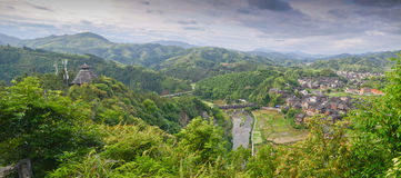 Dong minority village in China Royalty Free Stock Photography