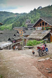 Dong Minority village in China Royalty Free Stock Photos