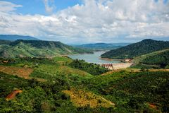 Dong Nai hydropower plant 3 Royalty Free Stock Photo