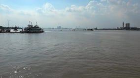 Dong Nai-rivier stock footage