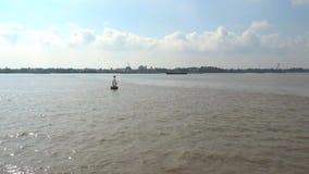 Dong Nai-rivier stock videobeelden