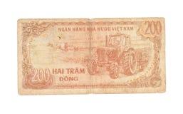 200 Dong räkningar av Vietnam Royaltyfri Fotografi