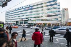 Dong Seoul Bus terminal. Stock Image