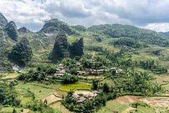 Dong Van (Ha Giang), Vietnam arkivfoton