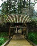 DONG VAN, HA GIANG, VIETNAME, o 20 de outubro de 2018: A mansão Ha Giang legendário de Vuong Family, Vietname imagem de stock royalty free