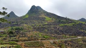 Dong Van Karst Plateau Geopark Arkivfoto