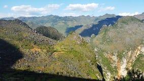 Dong Van Karst Plateau Geopark Arkivbilder