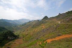 Dong Van Kras plateau geo globalny park Obrazy Stock