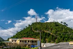 Dong Van, Wietnam (brzęczenia Giang) zdjęcie royalty free
