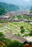 Dong Village, Guizhou, China Stock Photo