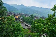 Dong Village, Guizhou, China Stock Photography