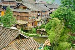 Dong Village, Guizhou, China Royalty Free Stock Image