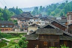 Dong Village, Guizhou, Chine photographie stock