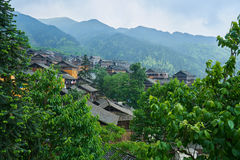 Dong Village, Guizhou, Chine photographie stock