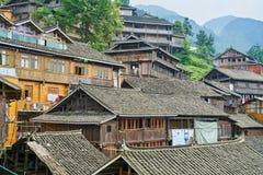Dong Village, Guizhou, Chine image stock
